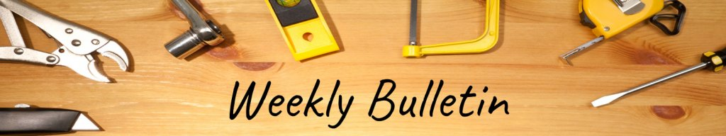 NWRBX Weekly Bulletin